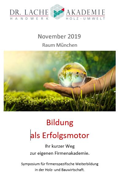 Bildungssymposium 11 2019
