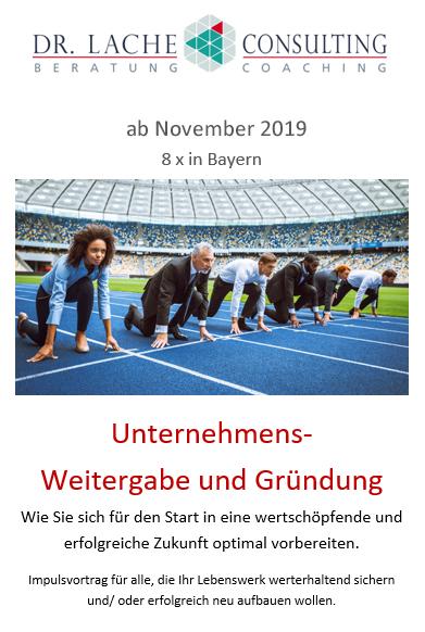 Weitergabe Und Gründung 11 2019