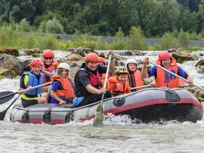 Teamentwicklung Beim Rafting